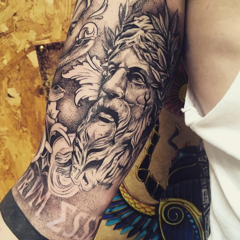 Namek-tattoo